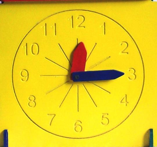 Cubo cara Reloj